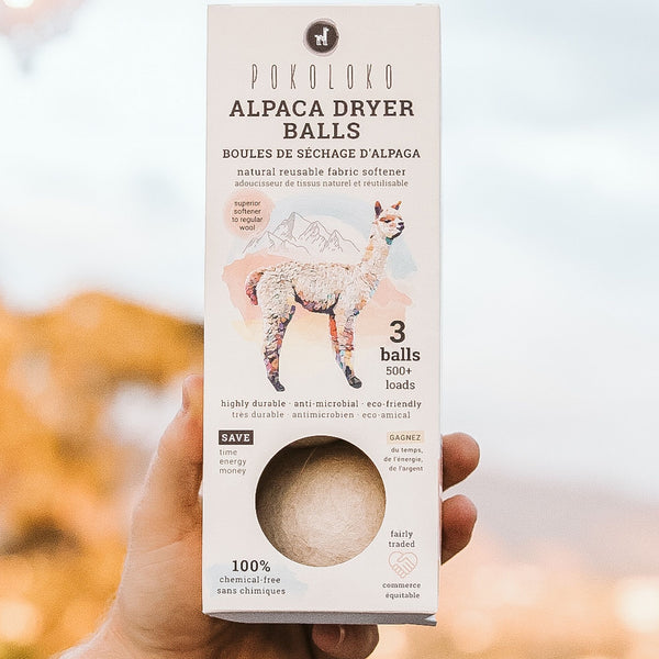 Alpaca Dryer Balls (Pkg of 3)