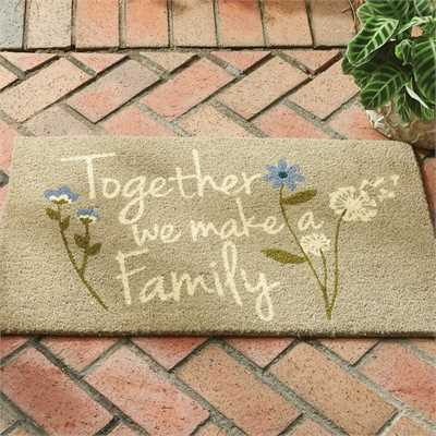Together We Make a Family Doormat