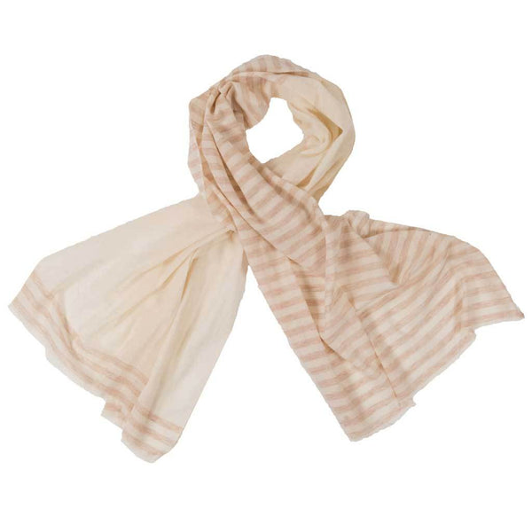 Hand-Loomed Summer Scarf