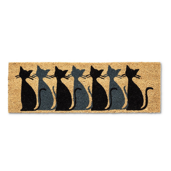 Cat Row Balcony/Apartment Doormat