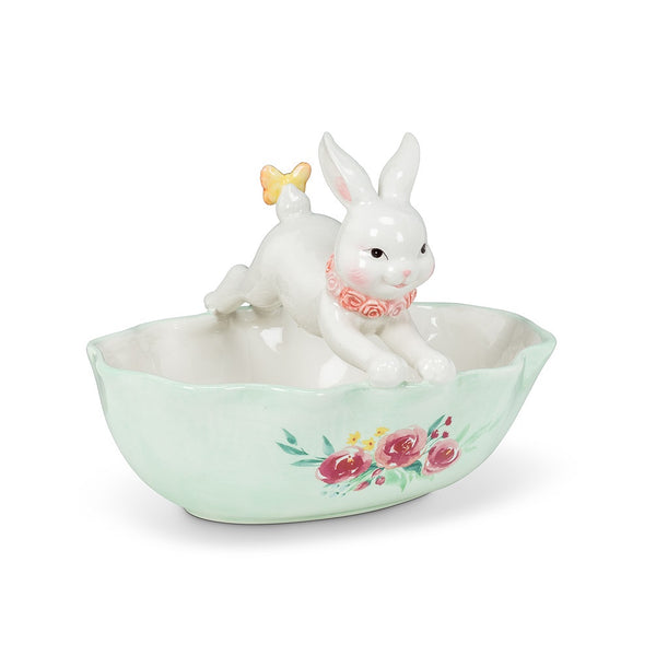 Leaping Bunny Dish