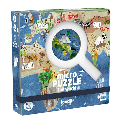 Discover the World 600pc Micro Puzzle - Londji