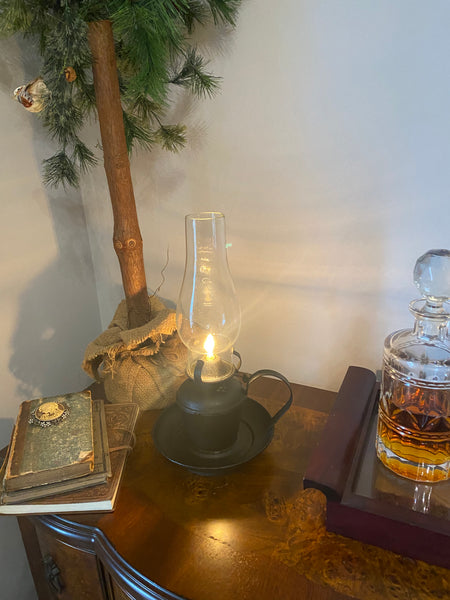 Vintage Styled Oil Lamp