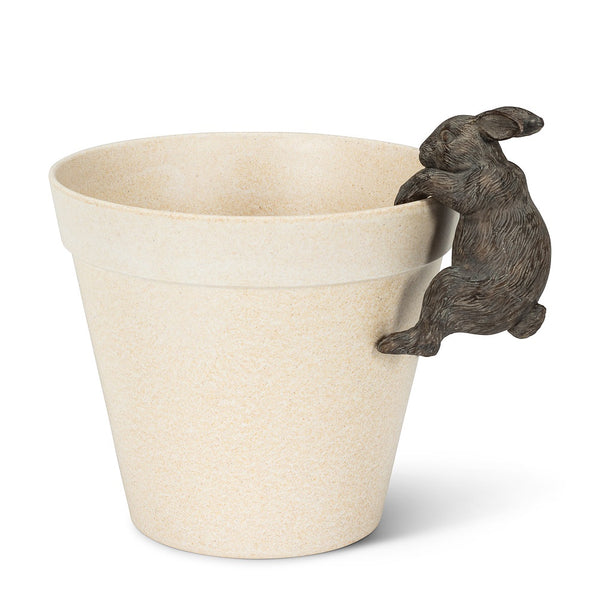 Climbing Rabbit Pot Hanger