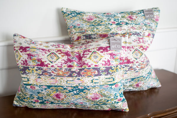 Bright Eclectic Pillow