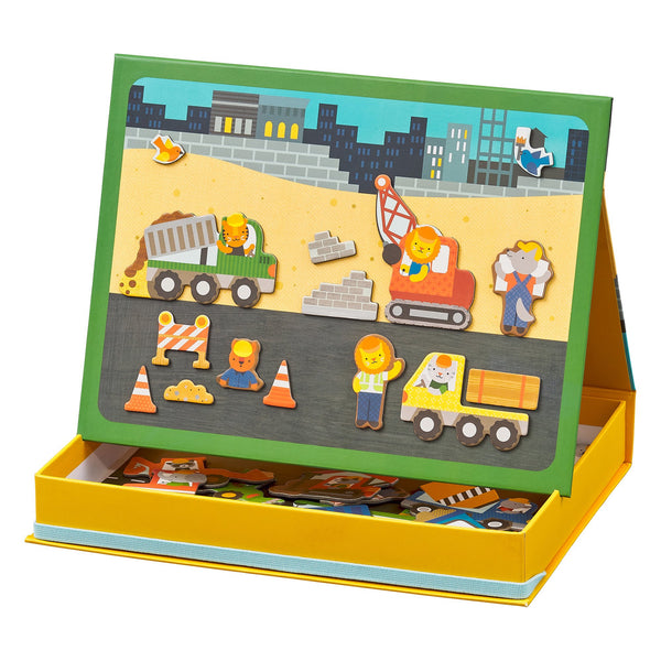 Construction Site - Magnetic Play Scene