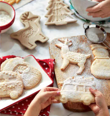 Holiday Heirloom Cookie Molds