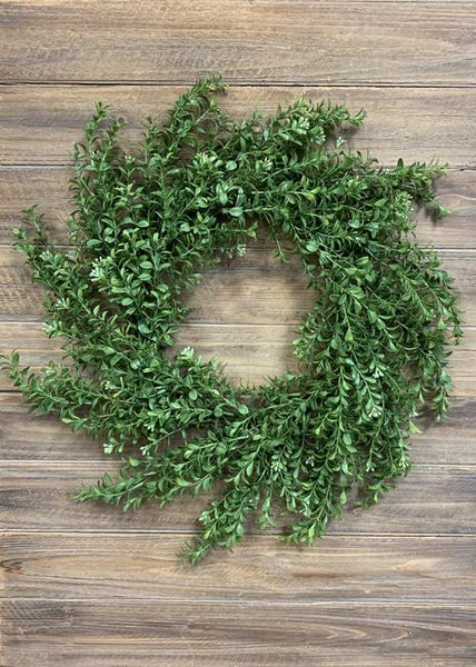 Boxwood Wreath 24""