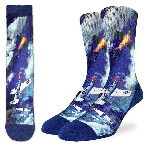 Mustang Fighter Socks (8-13)