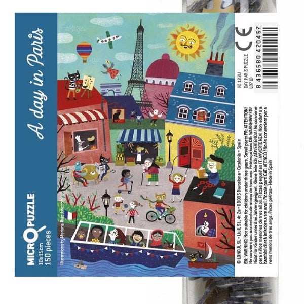 A Day or Night  in Paris - 150pc Micro Puzzles