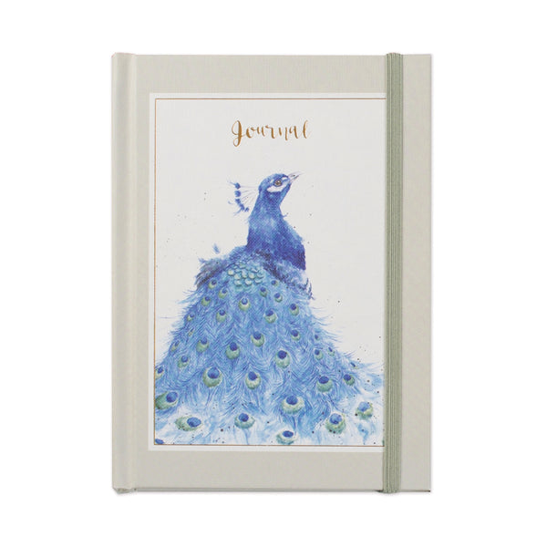 Peacock Elegance - Wrendale Hardcover Journal