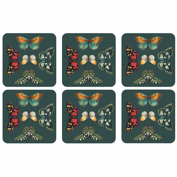 Botanical Garden Harmony Coasters - Set of 6