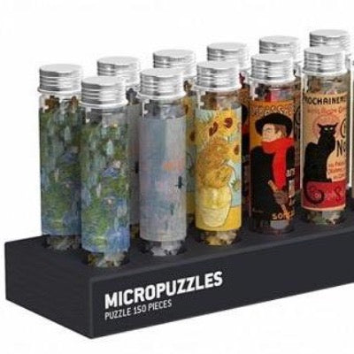150-Piece MicroPuzzles -Classic Art Mix