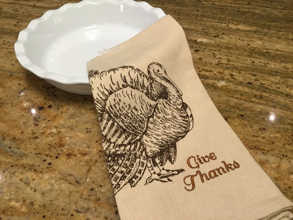 Giving Thanks Dishtowel