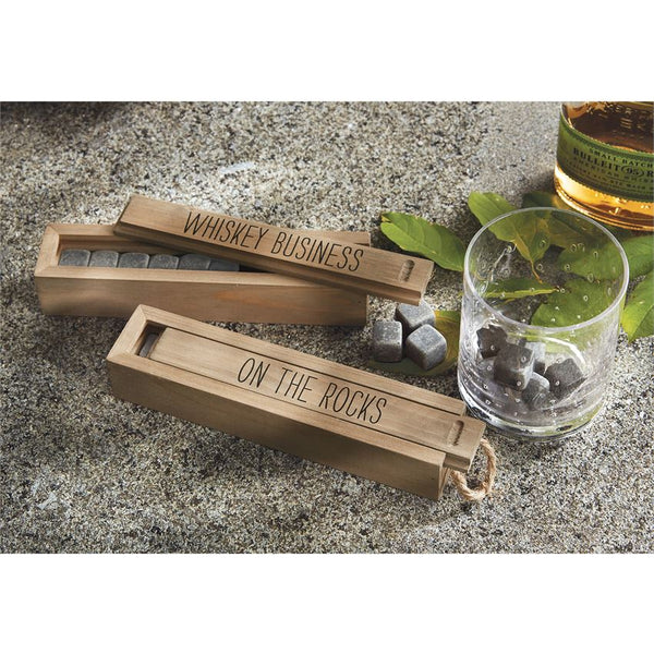 Whiskey Stones Crate