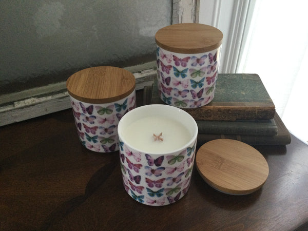 Cross Wick Canister Candles