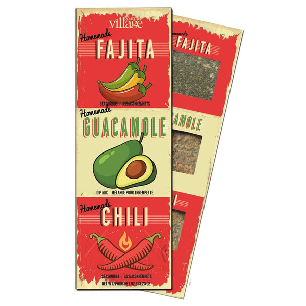 Mexican Seasonings Trio