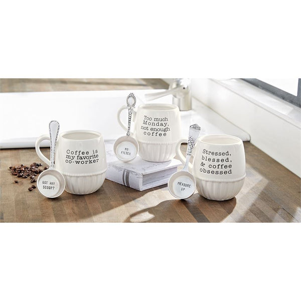 Sassy Mug & Coffee Scoop Set