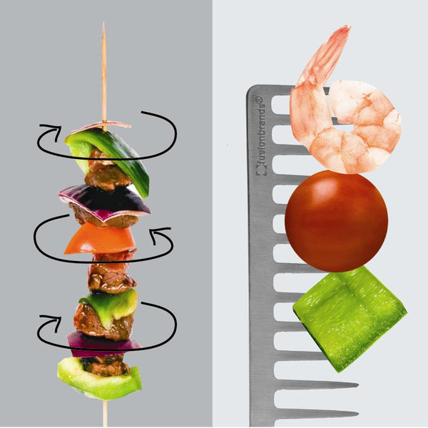 GrillComb™ Reusable Skewers