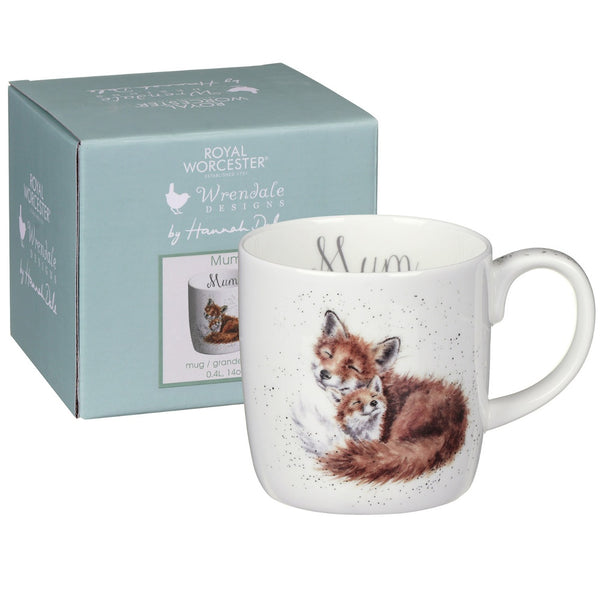 Mum - 14oz Wrendale Bone China Mug