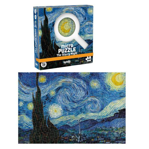 Starry Night 600pc Micro Puzzle - Londji
