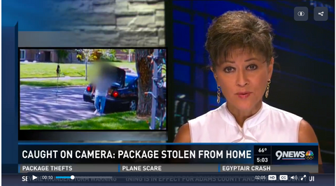 package theft from home with cameras