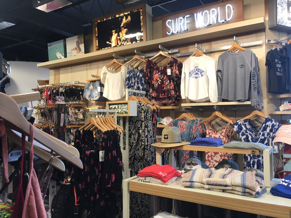 Surf World Fort Lauderdale Women's section