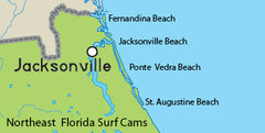 Ne Florida Surf Cam Map