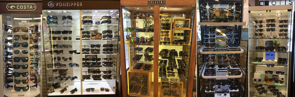 Eye-wear Brands at Surf World Pompano Beach