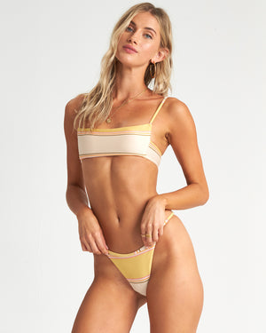 Billabong Tanlines Hike Bikini Bottom - Pineapple