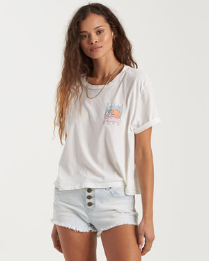 Billabong Buttoned Up Denim Shorts - Acid Rinse