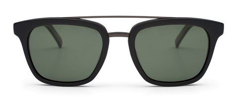 Otis Non Fiction Matte Black Grey Polarised Sunglasses - SURF WORLD Florida