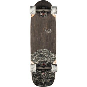"Globe Outsider 27"" Complete Skateboard - Black Black Pearl SURF WORLD"