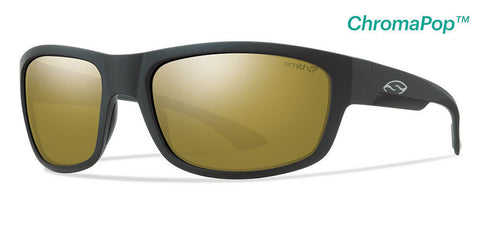 Smith Dover Matte Black Chrome Pop Polarized Bronze Mirror Sunglasses DRRPBZMMB - SURF WORLD Florida