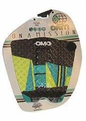 OAM Future Pad Pea Green Teal Traction Pad - SURF WORLD Fort Lauderdale Florida