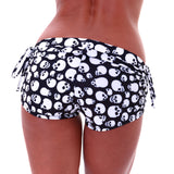 Onzie Side Tie Short Skull One Size 204SKU - SURF WORLD Florida