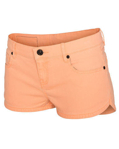 Hurley Twill Beachrider Womens Sunset Glow Walkshort GWS0000480SUN - SURF WORLD  - 1