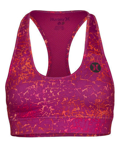 Hurley Dri-Fit Sports Bra Hurley Dri-Fit Sports Bra Fuchsia Flash - SURF WORLD Florida
