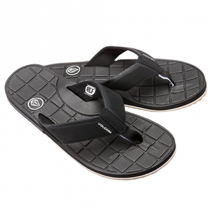 Volcom Stryker Men's Black Sandal SURF WORLD