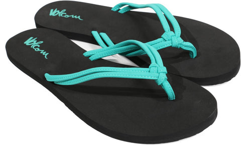 Volcom Forever And Ever Women's Aqua Sandal W0811565AQU - SURF WORLD Florida