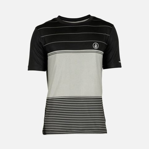 Volcom Sub Stripe SS Cement Rashguard N0111503 - SURF WORLD