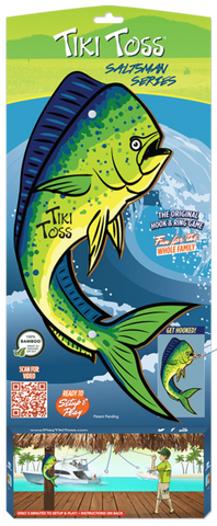 Tiki Toss Mahi Mahi Ring Toss Game tikitossmahi - SURF WORLD Florida