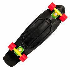 "PENNY 27"" NICKEL COMPLETE RASTA SKATEBOARD 1CPEN0127N12KYR SURF WORLD"