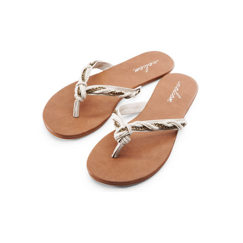 Volcom Beach Party Sandal Cream W0811551CRM - SURF WORLD Florida