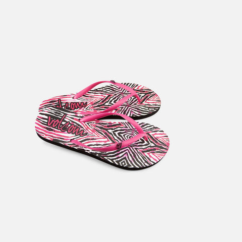Volcom Rocking 2 Women's Scream Magenta Sandal W0811555SMT - SURF WORLD Florida