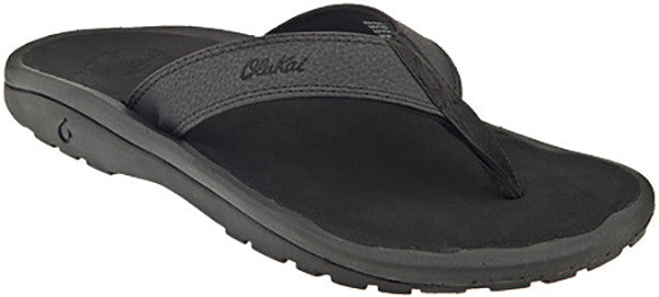 75099efbc1 Olukai Ohana Men s Black  Black Sandals 101104040 - SURF WORLD - 1