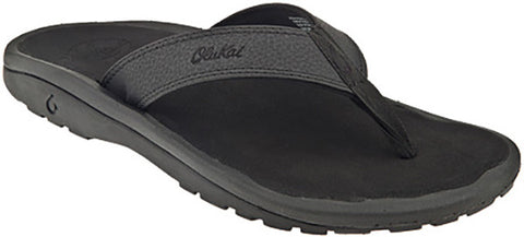 Olukai Ohana Men's Black/ Black Sandals 101104040 - SURF WORLD  - 1