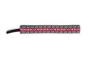 Banded Original Pink Red Geometric Headband 1404 SURF WORLD
