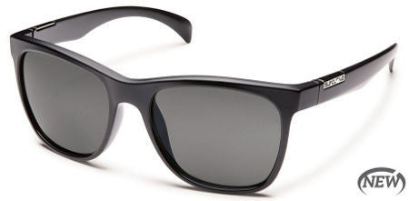 SunCloud Doubletake Matte Black Gray Sunglasses SDOPPGYBK - SURF WORLD Florida