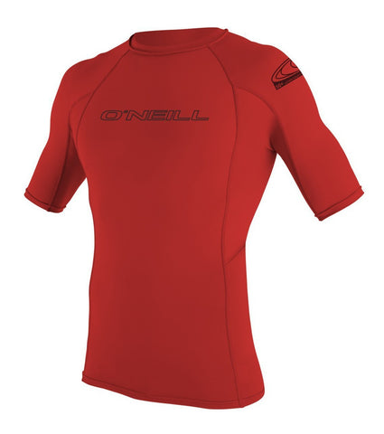 Oneill Basic Skins SS Crew RED - SURF WORLD  - 1